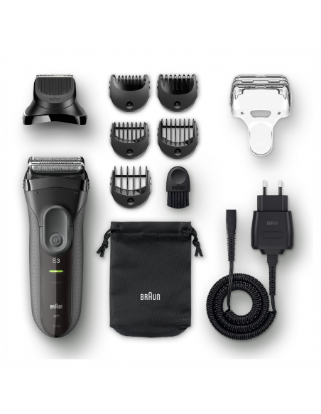 Pardel 3000BT +trimmer Shave&Style 3-in-1 Series 3 must