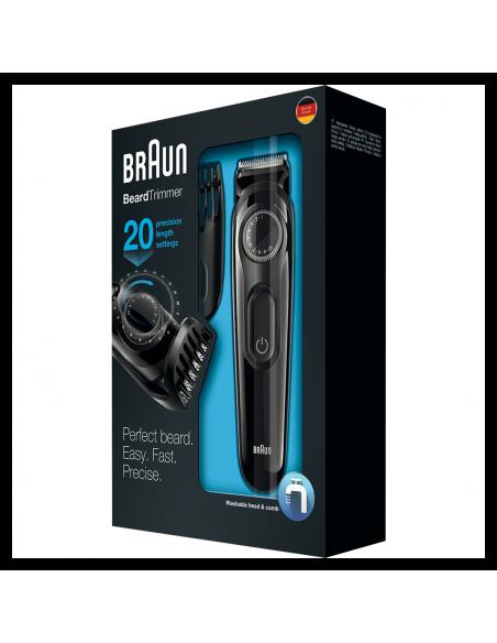 BRAUN BT3020 must juukse/habemetrimmer