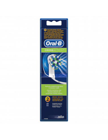 EB50-2tk. Braun Oral-B Cross Action...